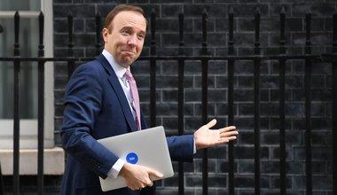 Matt Hancock Downing Street, May 2020