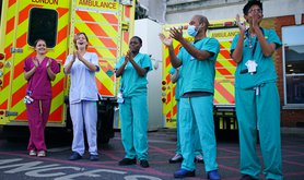 NHS workers during COVID-19