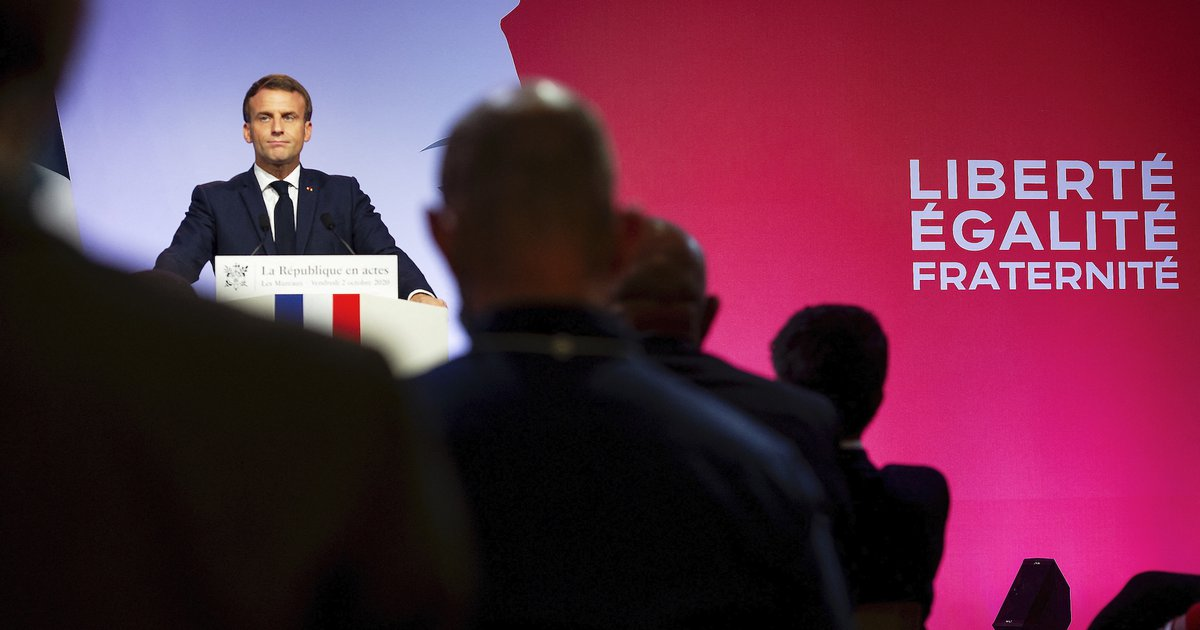 Macron S Populism And Islam Opendemocracy