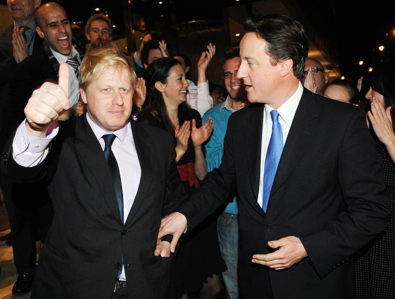 Boris Johnson mayoral victory