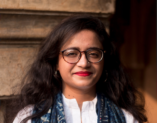 The author Priyanka Dubey.