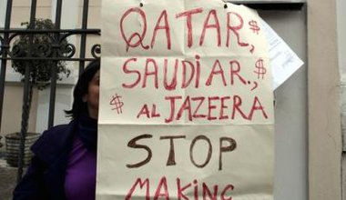 Protest against foreign military intervention in Syria.jpg