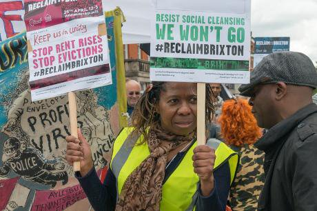 'Reclaim Brixton' march. Demotix/Peter Marshall. All rights reserved.