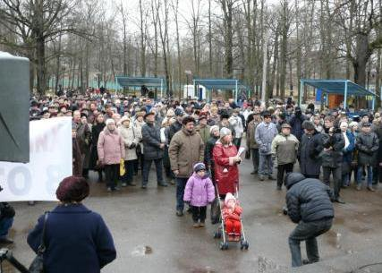 Demo Khimki Forest