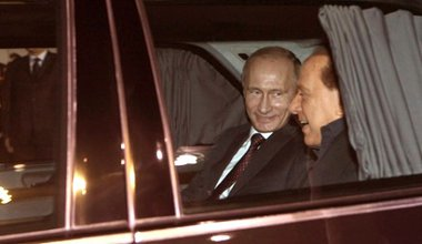 Putin arrives in Italy