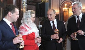 Putin_medvedev_church