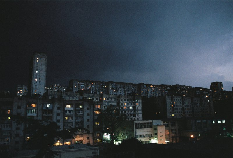 The outskirts of Tbilisi at night | George Nebieridze