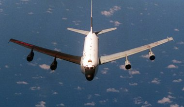 RC-135S Cobra Ball surveillance aircraft