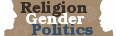 Religion Gender Politics logo and link