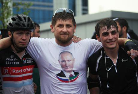 Ramzan Kadyrov at Russia Day celebrations in Grozny, 2014. Photo (c) Said Tsarnaev / VisualRIAN