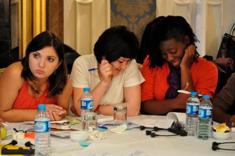 Participants at the Young Feminist Activist Conference, 2011.