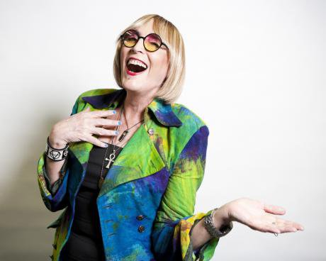 Kate Bornstein is a queer and pleasant danger. Credit: Santiago Felipe.