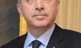 Portrait photo of Prime Minister of Turkey, Recep Tayyip Erdogan