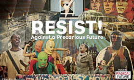 Resist! cover art by Yoav Segal.