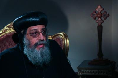 Pope Tawadros. Demotix / Roger Anis