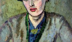 A portrait of Woolf by Roger Fry c.1917