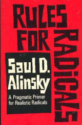 Book cover of Saul Alinsky's Rules for Radicals