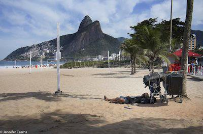 Homeless in Ipanema