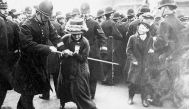 Black Friday suffrage protest.