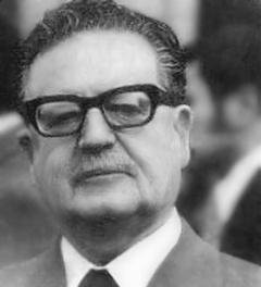 President of Chile, Salvador Allende (1970 - 1973)