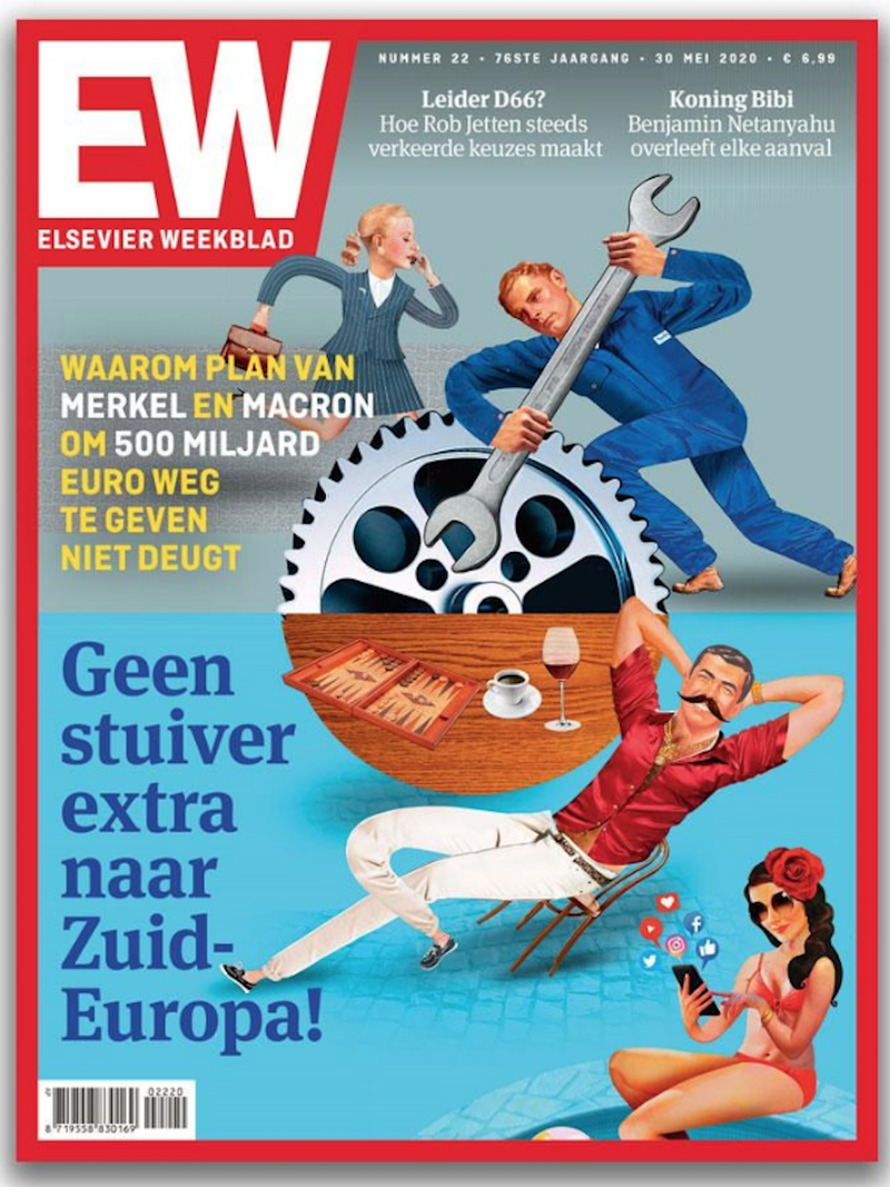 Elsevier Weekblad cover.