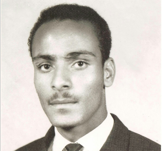 Student Movement activist Wallelign Mekonnen.