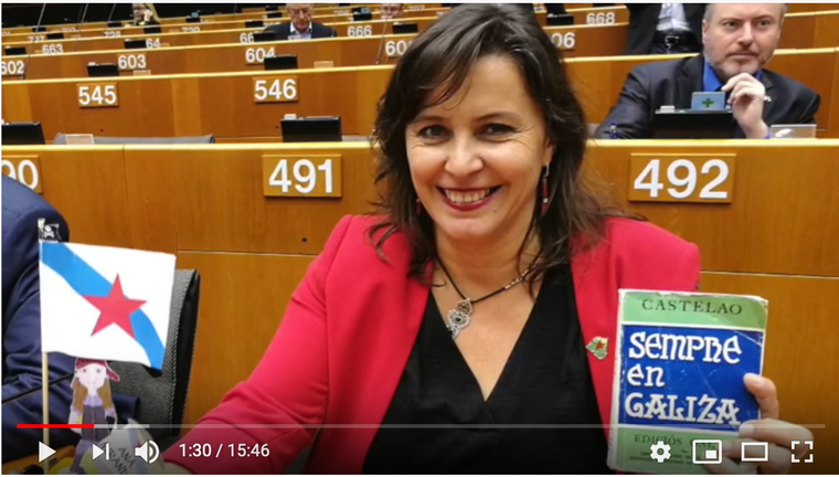 Former BNG MEP Ana Miranda takes office in February 2018.