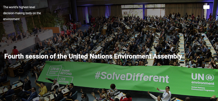 4th Session of the UN Environment Assembly