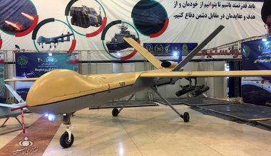 Iranian Shahed 129 UAV or drone, January 2019