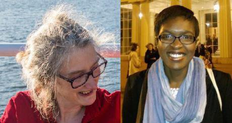 Clare Sambrook and Rebecca Omonira-Oyekanmi, editors of openDemocracy's Shine A Light section.