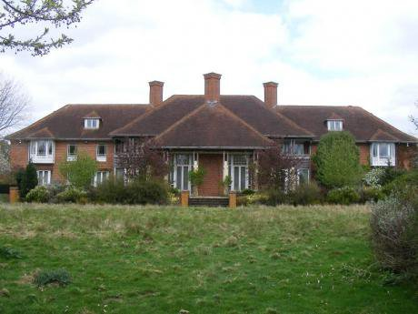 A large country house.