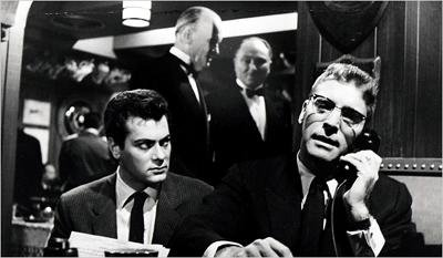 Sidney Falco and J.J.Hunsecker in the Sweet Smell of Success, United Artists, 1957