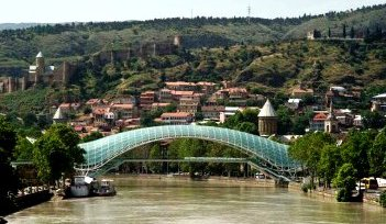 Freedom Bridge, Tbilisi