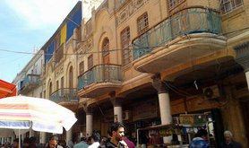 The restored buildings of Mutannabi Street. Ali Ali. All rights resrved.