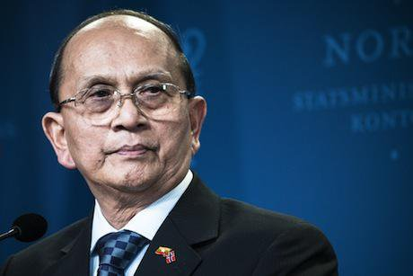 Thein Sein, President of Myanmar. Demotix/Alexander Widding. All rights reserved.