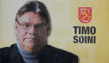 Timo Soini, leader of the True Finns, and the party's candidate for the 2012 presidential election. Wikimedia Commons/Jaakko Sivonen. Some rights reserved.