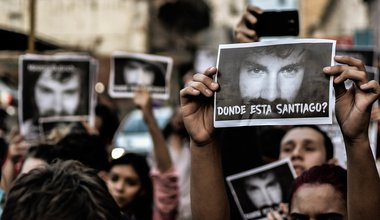 March for Santiago Maldonado, 1 September 2017