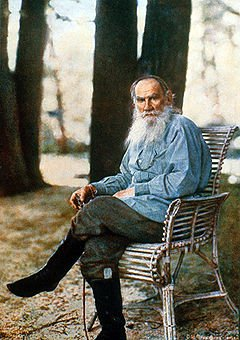 Tolstoy at Yasnaya Polyana estate