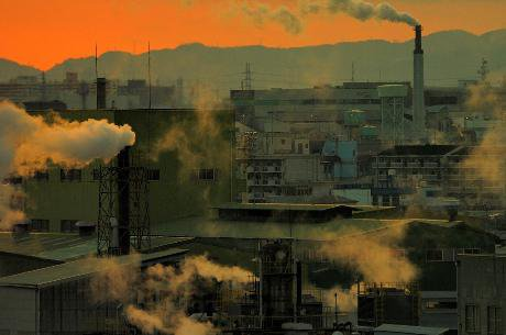 """Town of pollution"". shinobu sugiyama/Flickr. Some rights reserved."