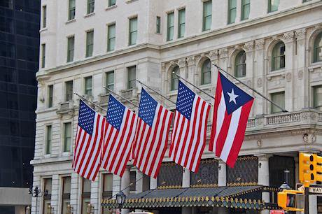 New York celebrates the 2015 National Puerto Rican Day Parade. Edward Leavy Jr/Demotix. All rights reserved.