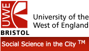 UWE- Social Science in the City logo