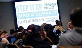 UN Women Media Compact launch