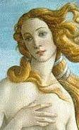 Venus from Boticell's 'Birth of Venus'