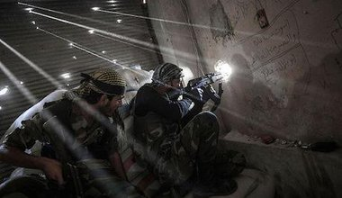 Violence in Aleppo. Narciso Contreras/Freedom House/Flickr. Some rights reserved.
