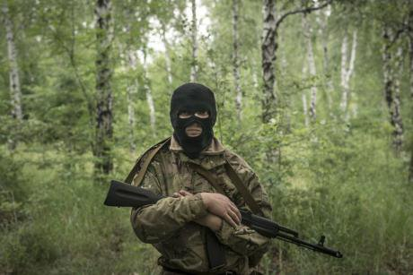 Member of the Vostok Battalion. (c) Sergei Ponomarev.