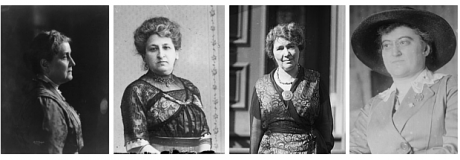 Four women of the early 20th Century