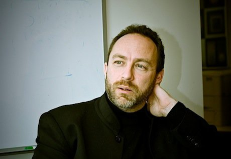 Wikipedia co-founder Jimmy Wales. Wikimedia Commons/William Brawley.