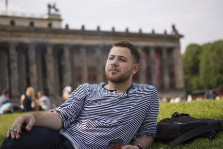 """Syria to Germany. """"I wanted to make the journey like an adventure, discovering new places and cities. We called it an ad"""