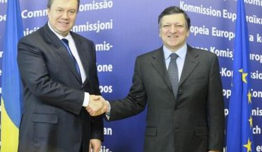 Yanukovich in Brussels