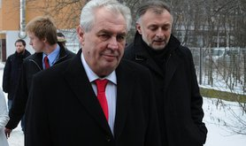 Czech president-elect Miloš Zeman. Demotix/Tomas Tkacik. All rights reserved.